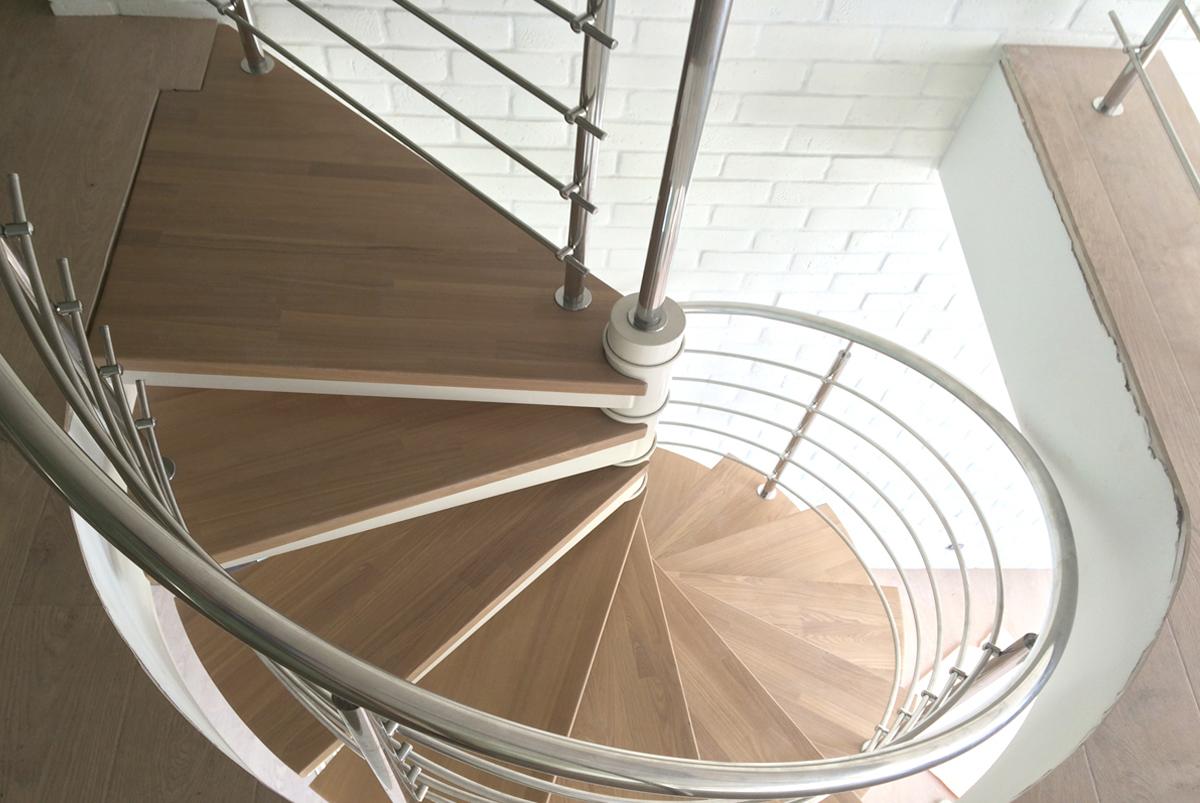 лестницы из нержавейки фото винтовые